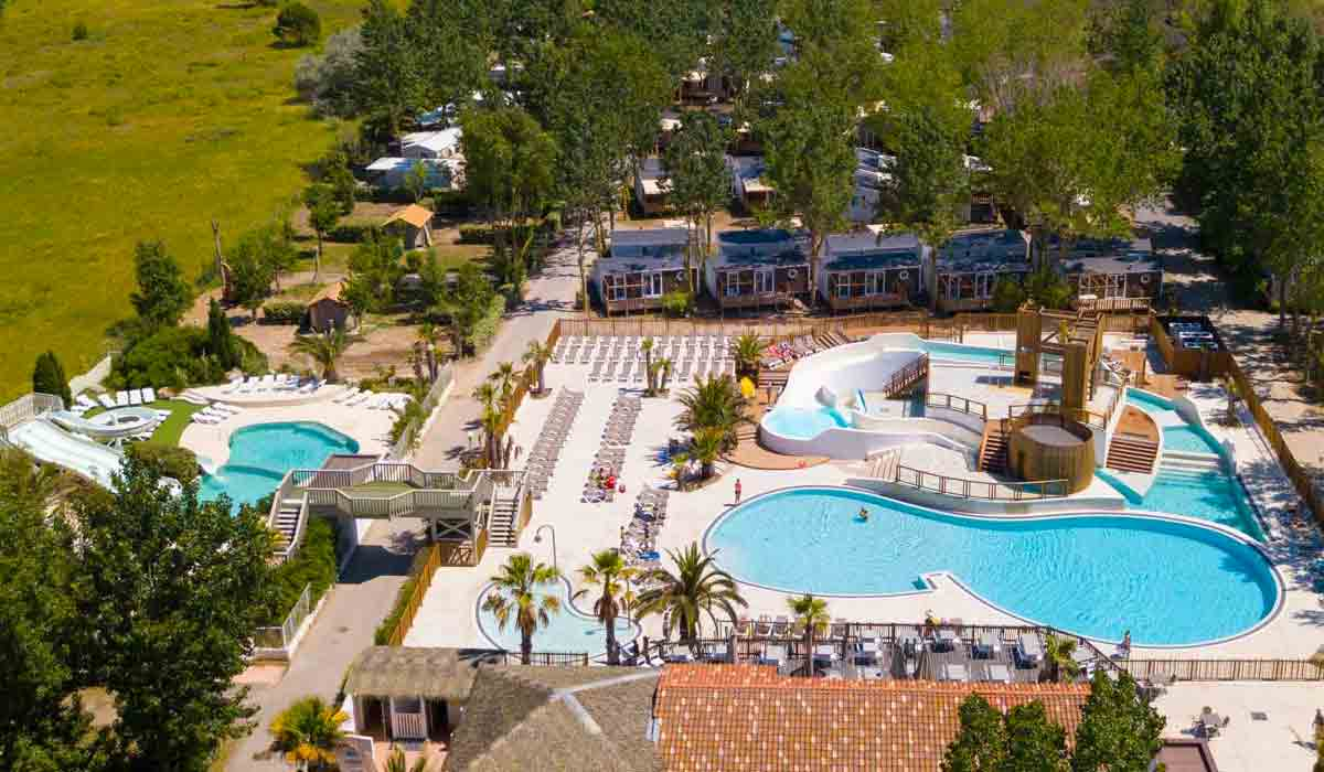 Camping valras monplaisir 5 toiles valras plage toocamp - Hotel narbonne plage avec piscine ...