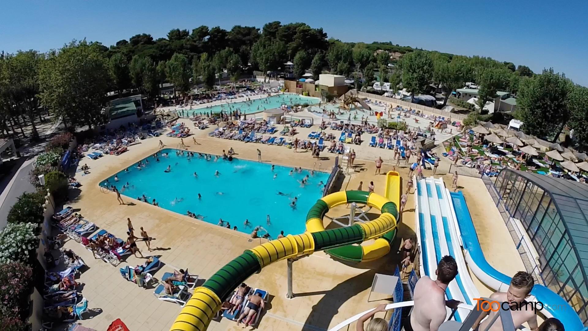 Camping - Valras-Plage - Languedoc-Roussillon - Le Domaine de la Yole