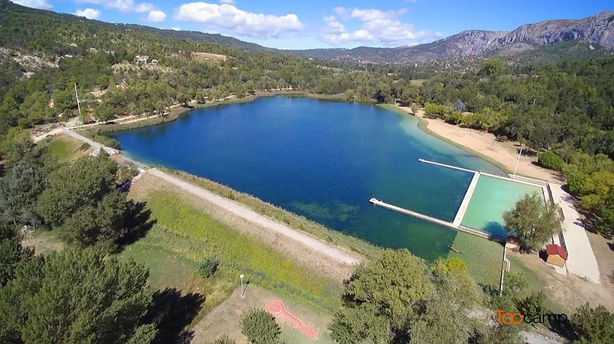 Camping - Moustiers-Sainte-Marie - Provence-Alpes-Côte d'Azur - France