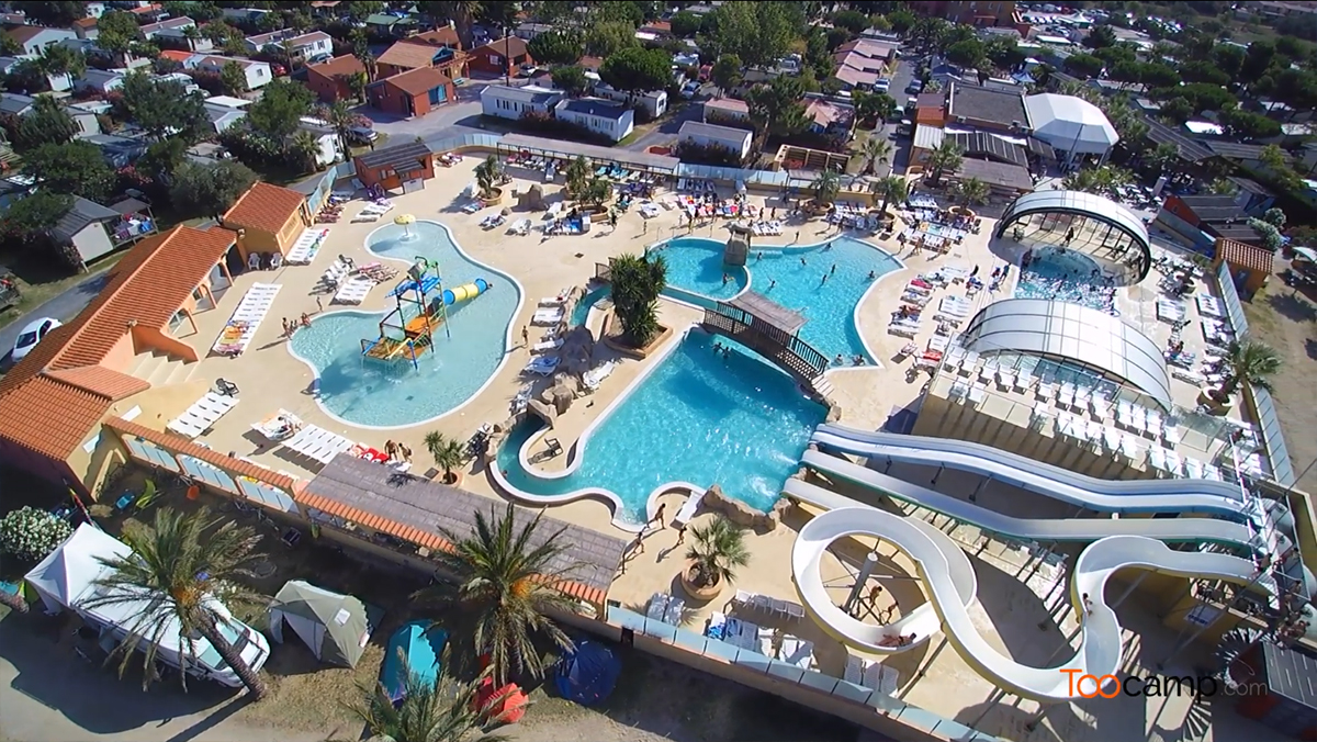 Camping 5 toiles saint cyprien et camping 4 toiles saint cyprien - Camping carcassonne avec piscine ...