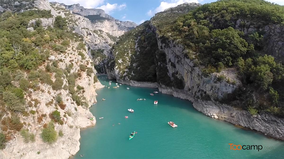 Camping - Gorges du Verdon - Castellane - Provence-Alpes-Côte d'Azur - France