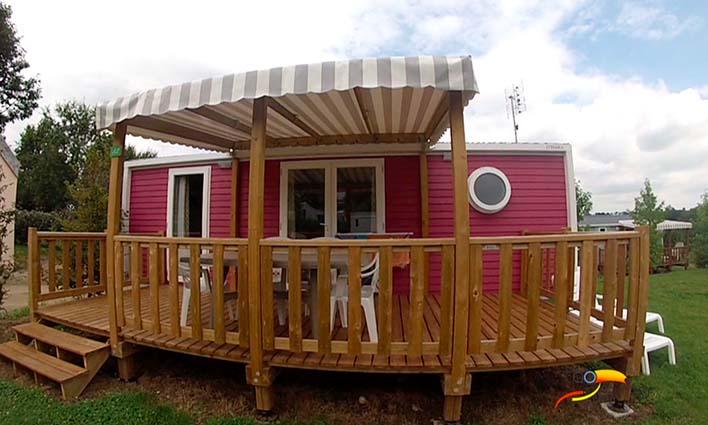 Camping - Chambretaud - Pays de Loire - Au Bois du Cé