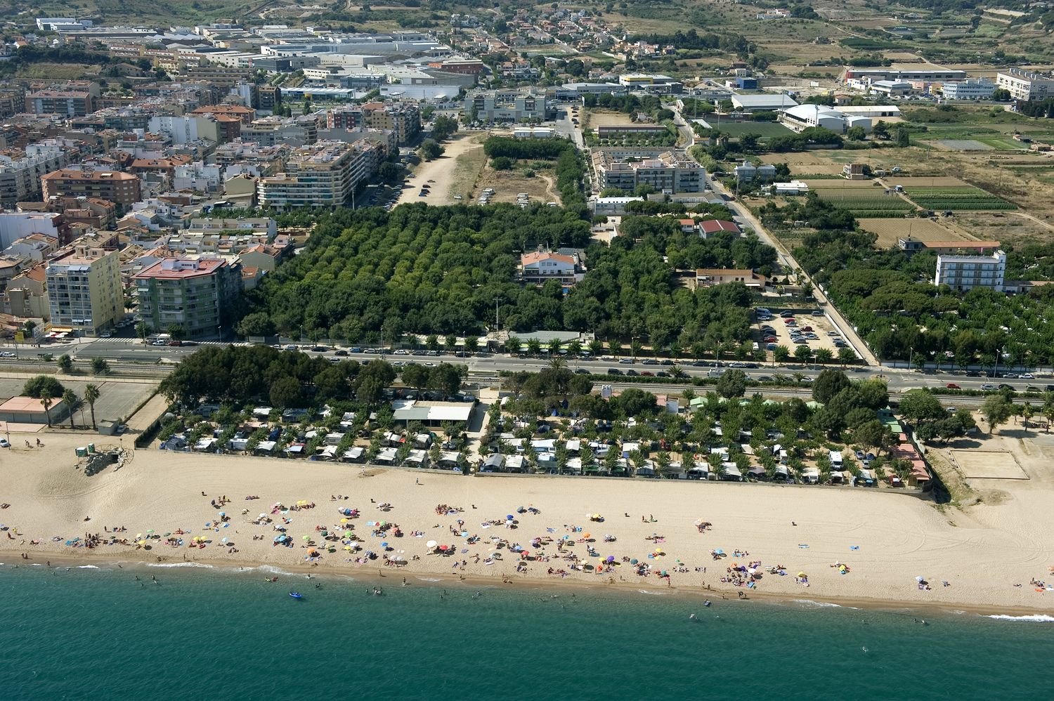 Camping - Pineda de Mar - Costa Brava - Caballo de Mar