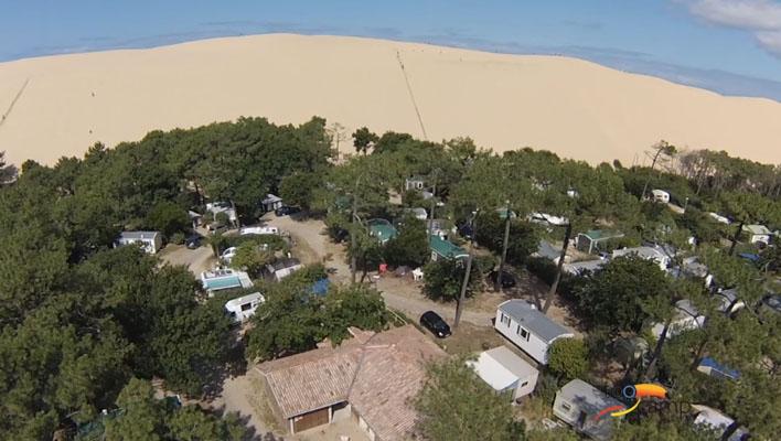Camping - Pyla sur Mer - Aquitaine - La Dune