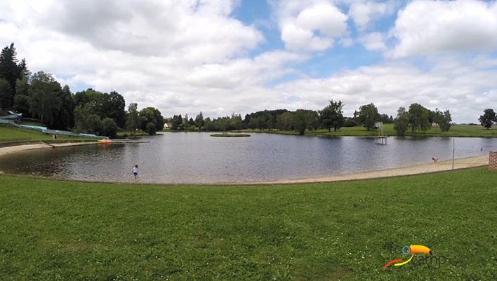 Camping - l'Air du Lac - Saint-Hilaire-les-Places - Limousin - France