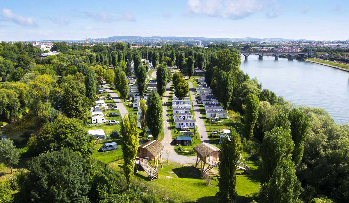 Camping - Maisons-Laffitte - Ile de France - International de Maisons-Laffitte