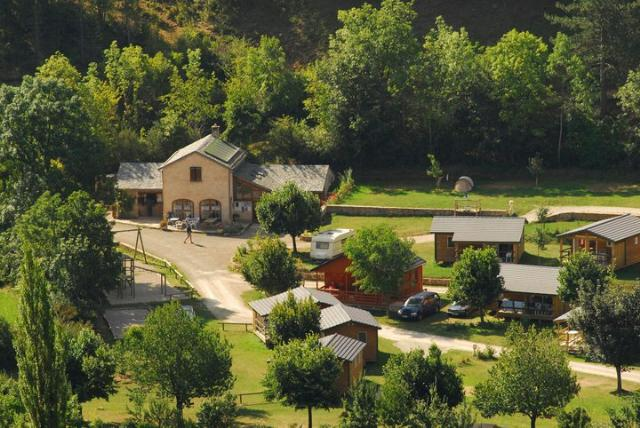 Camping - Meyrueis - Languedoc-Roussillon - La Cascade