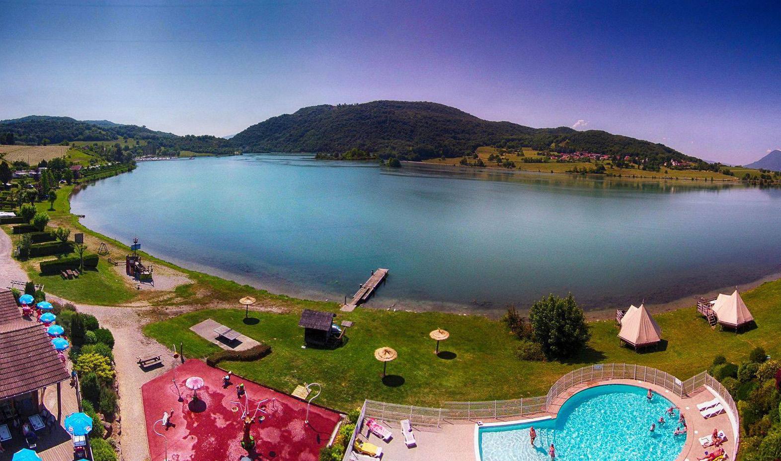 Camping - Massignieu-de-Rives - Rhône-Alpes - Lac du Lit du Roi
