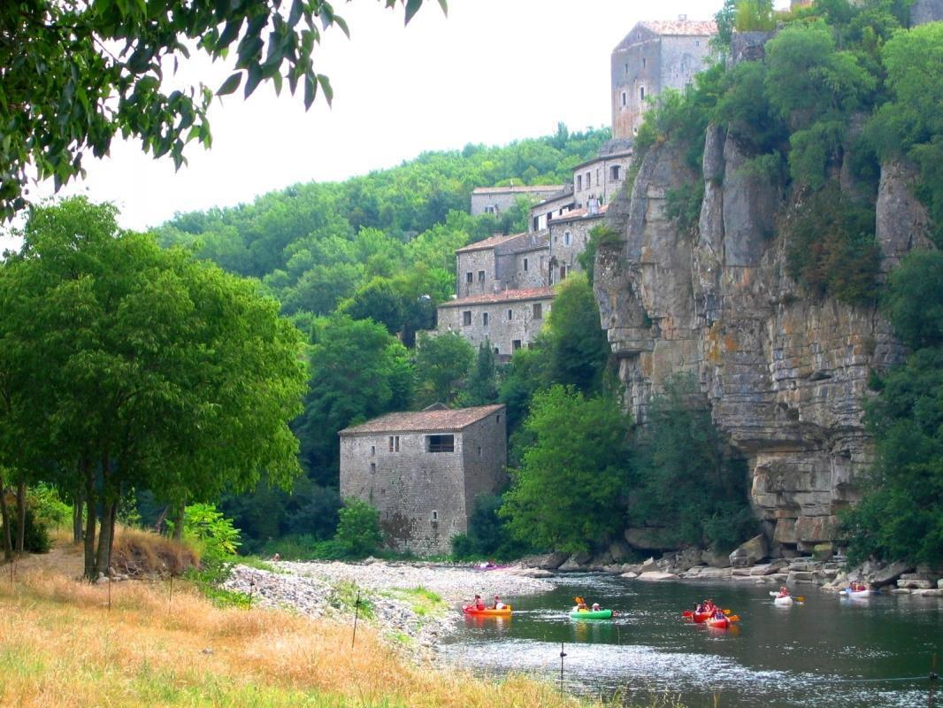 Camping - La Falaise - Balazuc - Rhône-Alpes - France