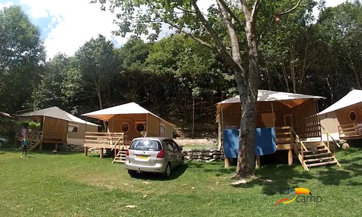 Camping La Vallée de Poupet 3étoiles Saint Malo du Bois Toocamp # Camping Saint Malo Du Bois
