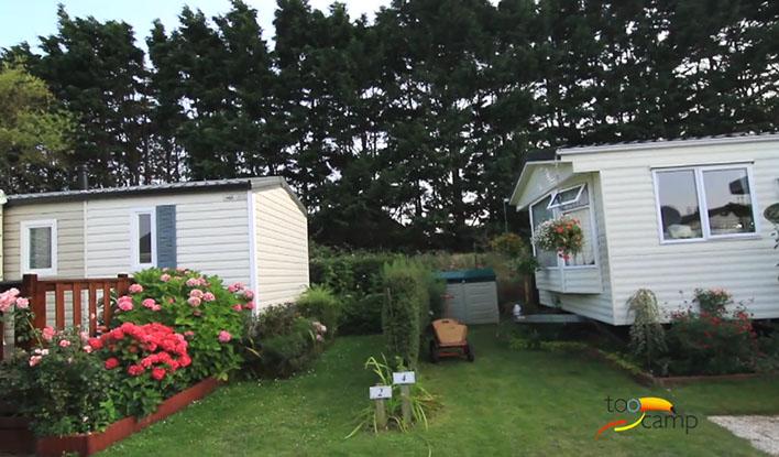 Camping - le Bois des Pins - Cayeux-sur-Mer - Picardie - France