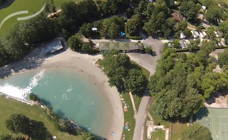 Camping - Le Colombier - Culoz - Rhône-Alpes - France