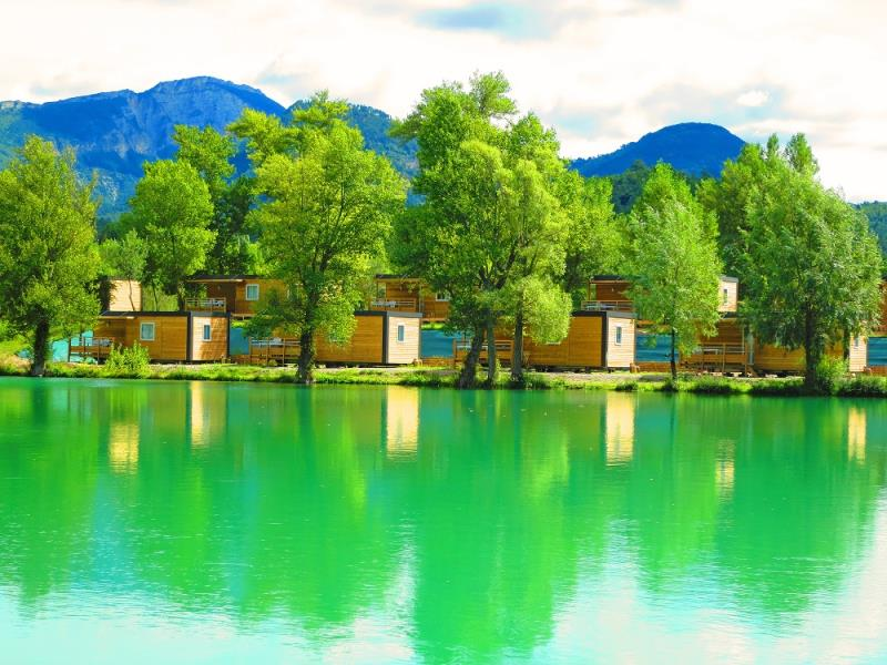 Camping - Le Lac Bleu - Châtillon-en-Diois - Rhône-Alpes - France