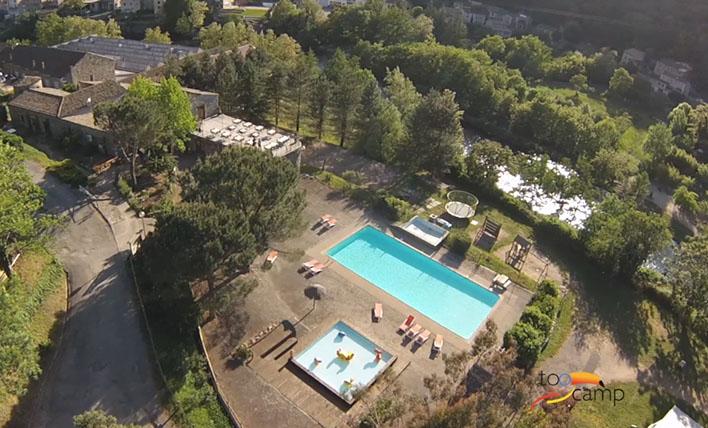 Camping - Les Ollières-sur-Eyrieux - Rhône-Alpes - Mas de Champel