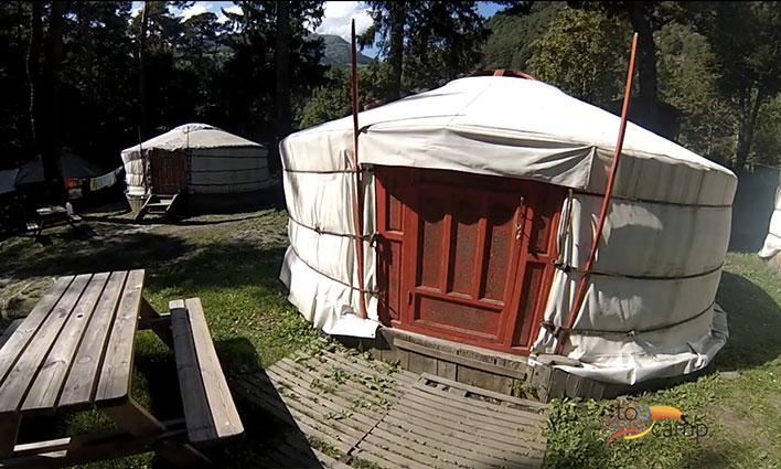 Camping - Bourg-Saint-Maurice - Rhône-Alpes - Le Reclus