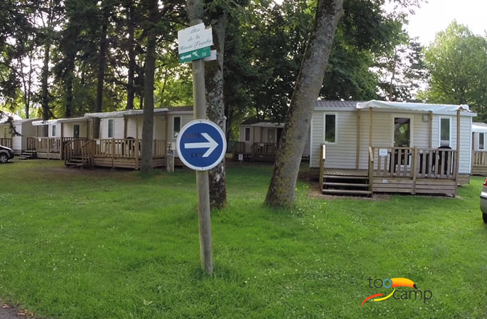 Camping - Châteauroux - Grand Centre - Le Rochat Belle-Isle