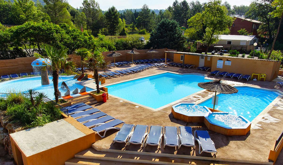 Camping - Le Ruou - Villecroze - Provence-Alpes-Côte d'Azur - France