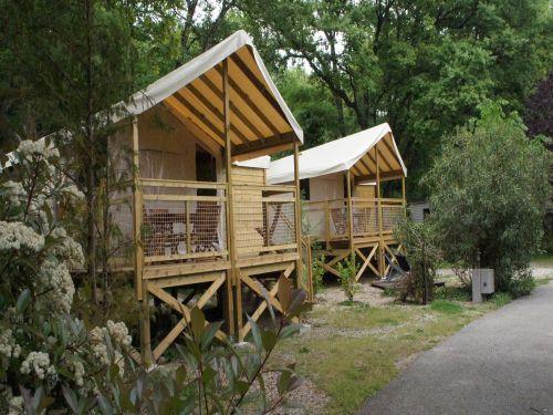 Camping - les Cent Chênes - Saint-Jeannet - Provence-Alpes-Côte d'Azur - France