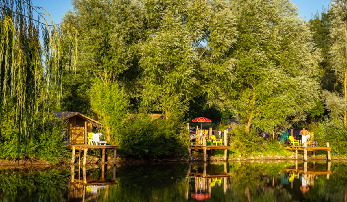 Camping - Brissac Quincé - Pays de Loire - l'Etang