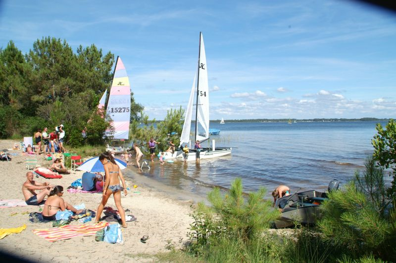 Camping - Le Tedey - Lacanau - Aquitaine - France