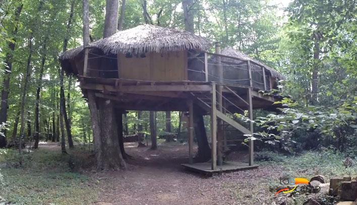 Camping - Magné - Poitou-Charentes - Parc de la Belle
