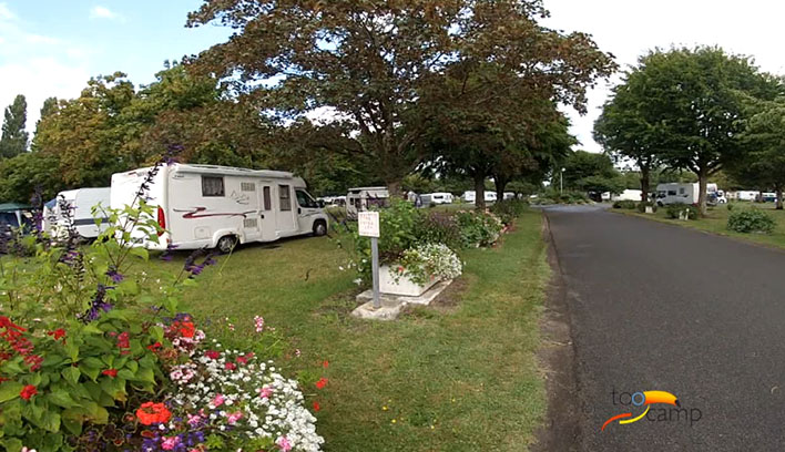Camping Bléré Plage la Gâtine