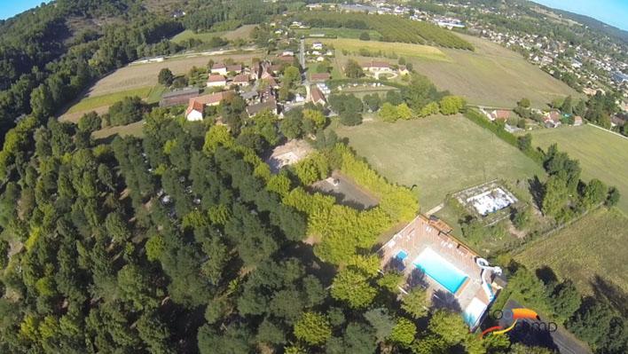 Camping - Le Bugue - Aquitaine - Le Rocher de la Granelle