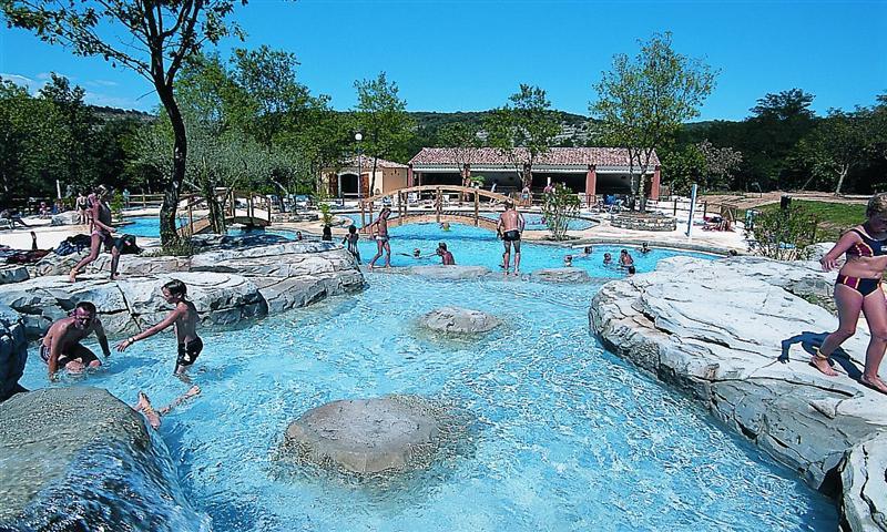 Camping - Le Soleil Vivarais - Sampzon - Rhône-Alpes - France