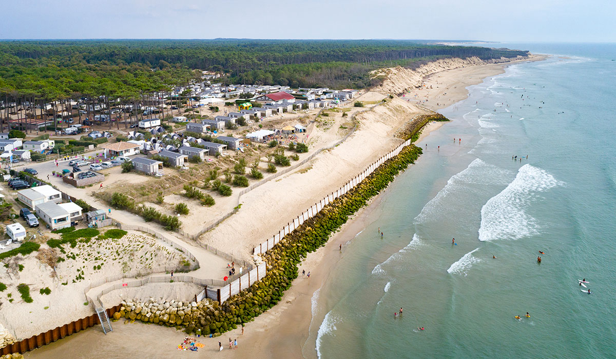 Camping - Soulac Plage - Soulac-sur-Mer - Aquitaine - France