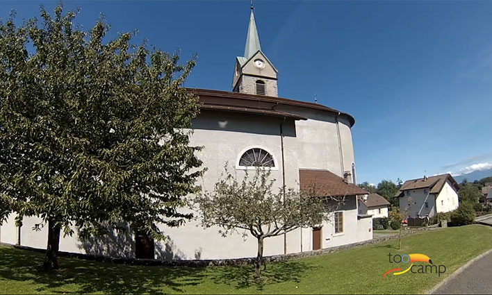 Camping - La Vieille Eglise - Lugrin - Rhône-Alpes - France