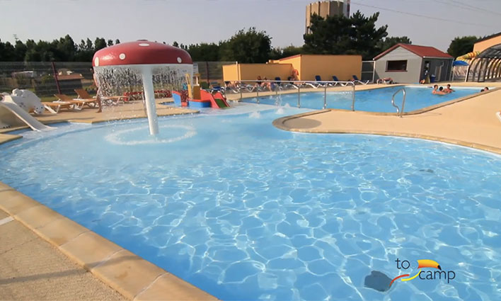 Camping vitamin 4 toiles saint aubin sur scie toocamp for Camping haute normandie piscine