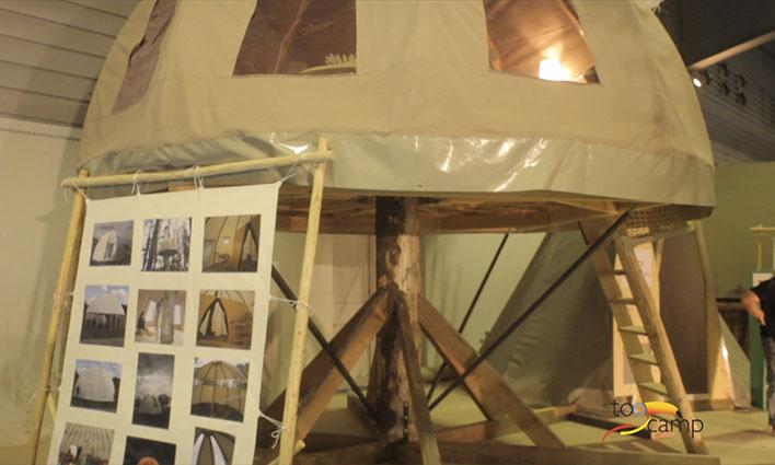 Tentes meublées insolites : La Tente tipi et la Tente Wigwan