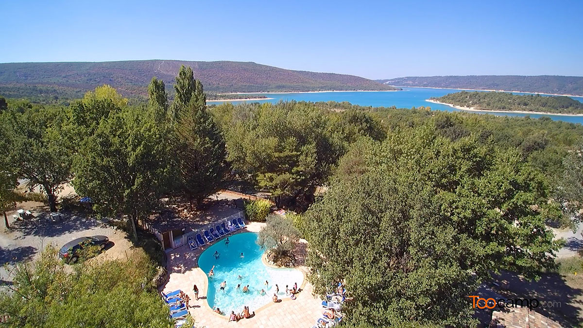 Camping - Aiguines - Provence-Alpes-Côte d'Azur - Chanteraine