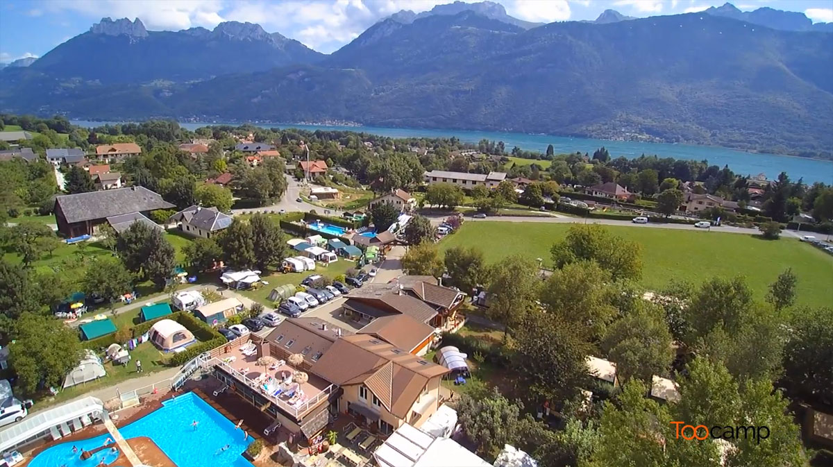 Camping - Les Fontaines - Lathuile - Rhône-Alpes - France