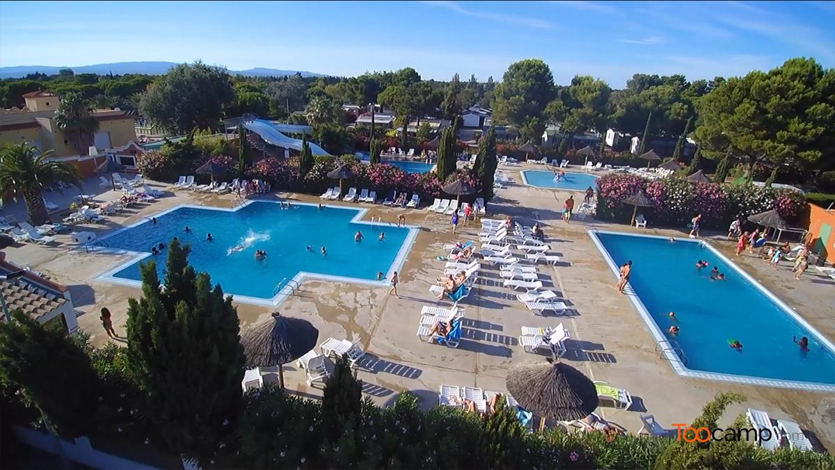 Camping - Torreilles - Languedoc-Roussillon - Les Tropiques