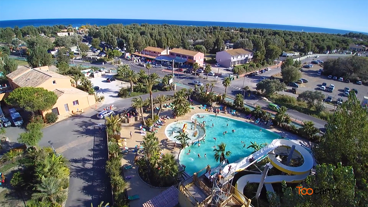 Camping - Sérignan - Languedoc-Roussillon - France