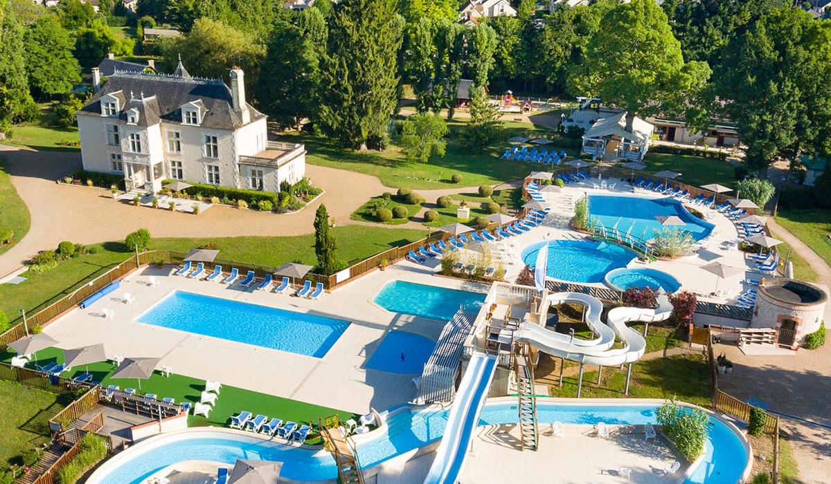 Camping - Muides-sur-Loire - Grand Centre - Château des Marais