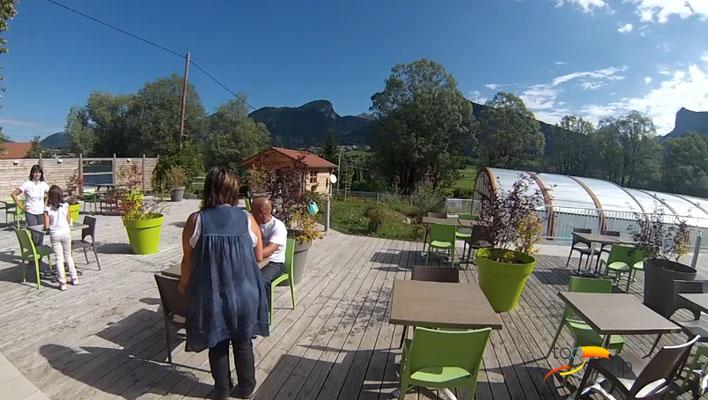 Camping - Lus-la-Croix-Haute - Rhône-Alpes - Champ la Chèvre