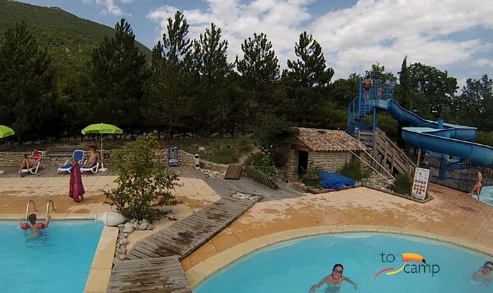 Camping - La Source du Jabron - Dieulefit - Rhône-Alpes - France