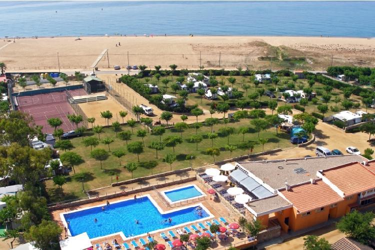 Camping - Del Mar - Malgrat de Mar - Costa Brava - Espagne