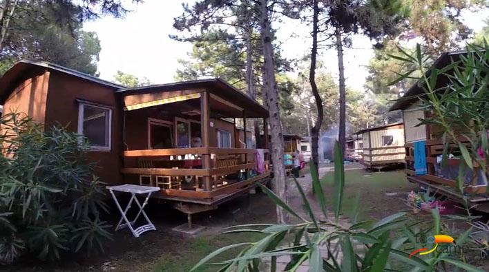 Camping - Il Tridente - Bibione Pineda - Vénétie - Italie