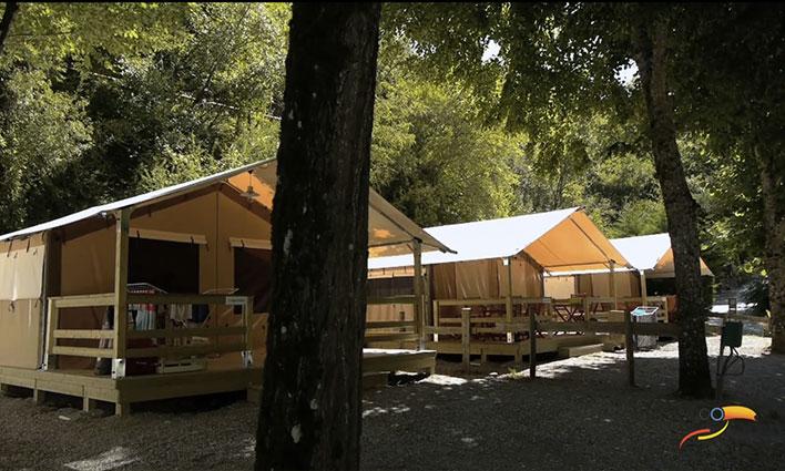 Camping - Les Vignes - Languedoc-Roussillon - La Blaquière