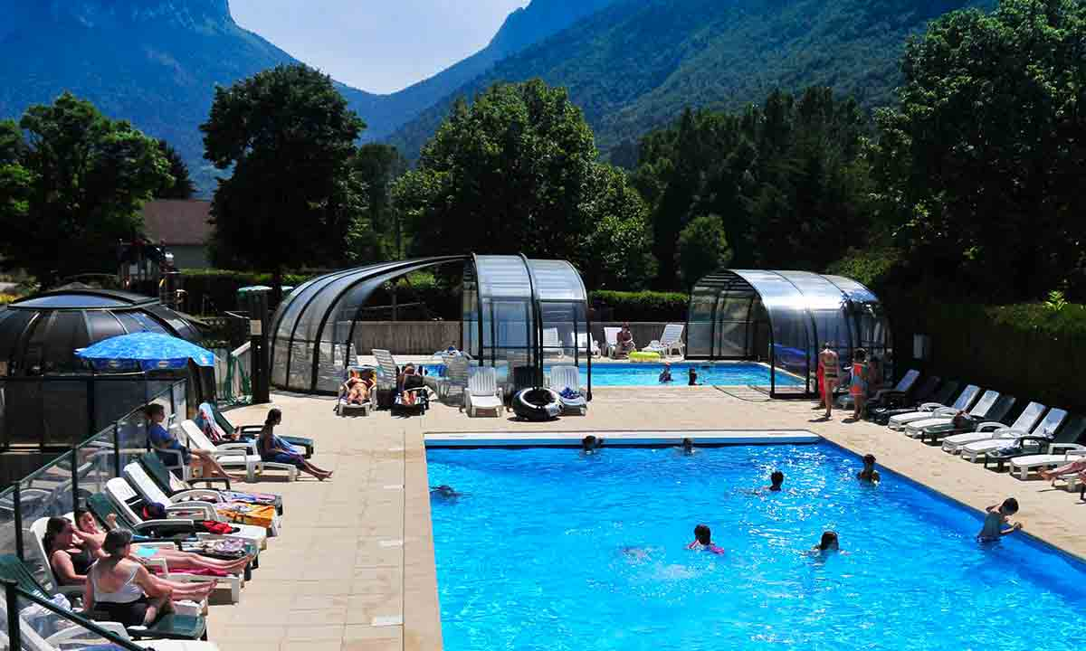 Camping - La Ferme - Lathuile - Rhône-Alpes - France