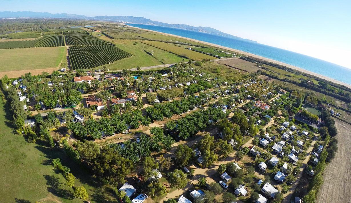 Camping - Sant Pere Pescador - Costa Brava - Las Palmeras