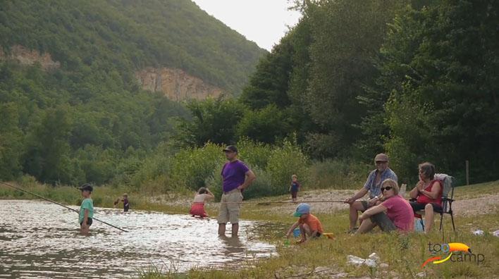 Camping - Mostuéjouls - Midi-Pyrénées - l'Aubigue