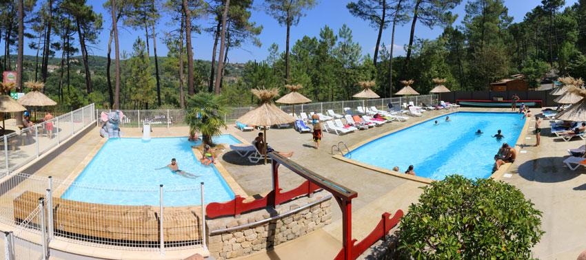 Camping - Bois Simonet - Joyeuse - Rhône-Alpes - France
