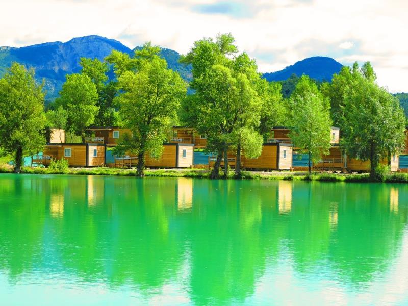 Camping - Châtillon-en-Diois - Rhône-Alpes - Le Lac Bleu