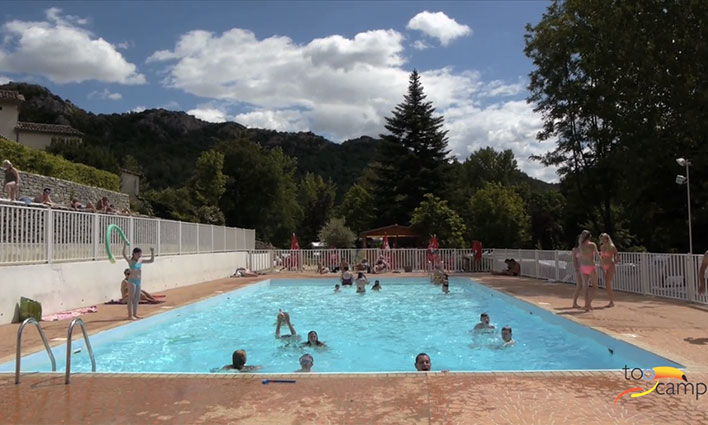 Camping - Anduze - Languedoc-Roussillon - Les Fauvettes