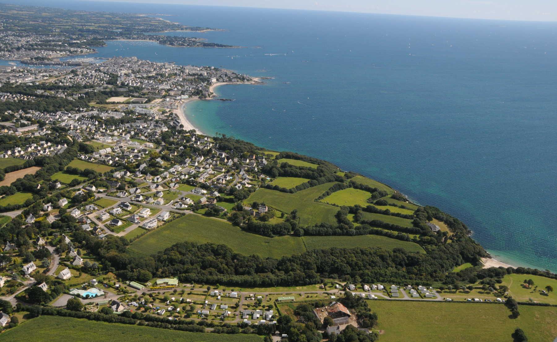 Camping - Les Prés Verts aux 4 Sardines - Concarneau - Bretagne - France