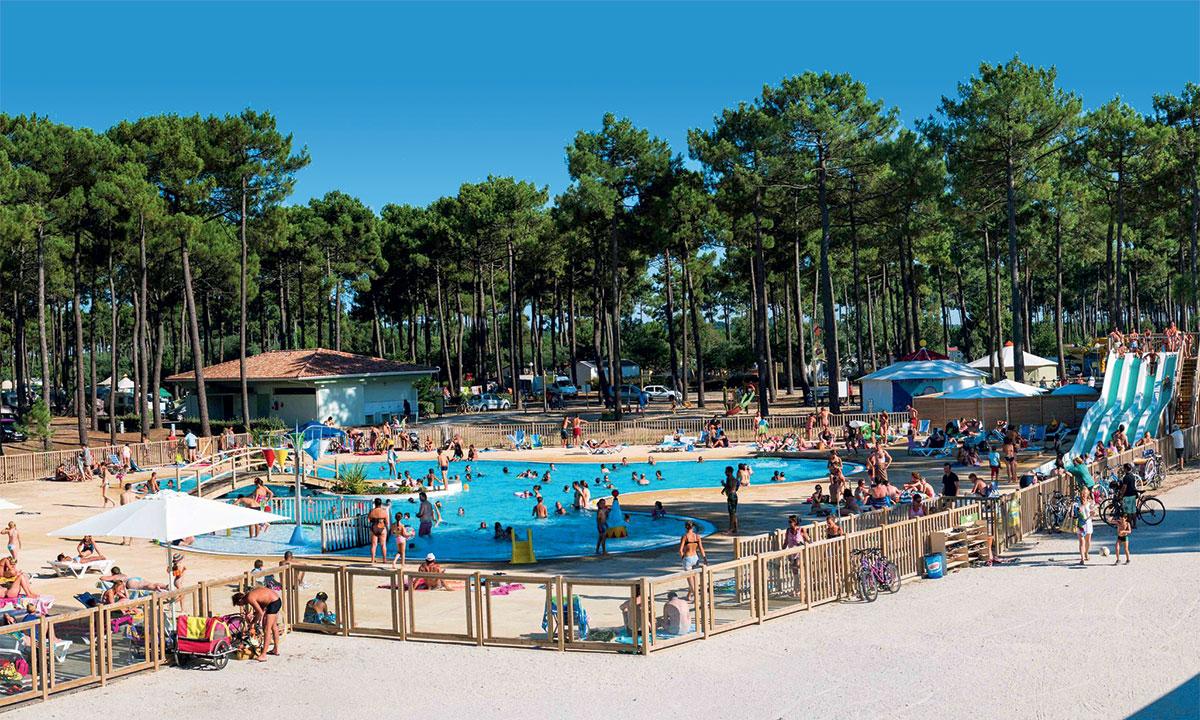 Camping - Medoc Plage - Vendays-Montalivet - Aquitaine - France